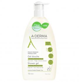 A-Derma Shower Gel Hydra-Protective PROMO -15% Αφρόλουτρο για Ευαίσθητες Επιδερμίδες, 750ml