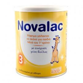 Novalac 3 Ρόφημα Γάλακτος Σε Σκόνη Για Παιδιά Μετά τον 1o Χρόνο 400gr