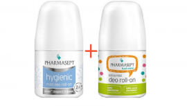 PHARMASEPT Hygienic Mild Deo Roll-On 24h 50ml & Kid Care Extra Mild Deo Roll-On 50ml
