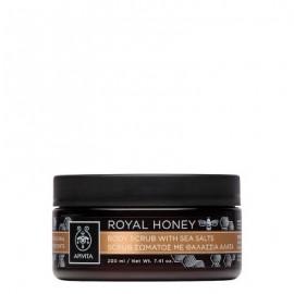 Apivita Royal Honey Scrub Σώματος με Θαλάσσια Άλατα, 200ml