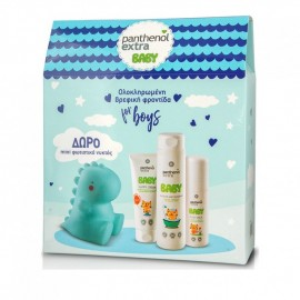Panthenol Extra Promo Baby Shower&Shampoo 300ml & Body Milk 100ml & Nappy Cream 100ml & ΔΩΡΟ Mini Φωτιστικό Νυκτός Γαλάζιο