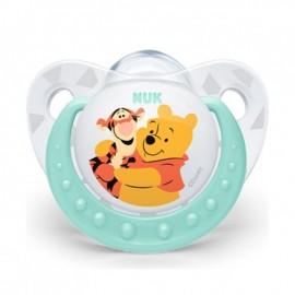 Nuk Trendline Disney Winnie the Pooh Πιπίλα Σιλικόνης 6-18m 1τμχ