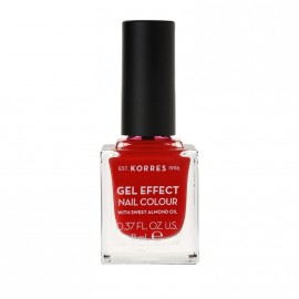 Korres Βερνίκι Νυχιών Gel Effect Nail Colour No53 Royal Red 11ml