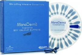 Pharmaq Monoderma Soy Calcium Supreme Εντατικός Επανορθωτικός Ορός σε μονοδόσεις, 28 amps