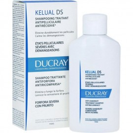 Ducray Kelual DS Shampooing, Σαμπουάν Αγωγής κατά της Πιτυρίδας για Σοβαρές Απολεπιστικές Καταστάσεις με Αίσθημα Κνησμού, 100ml