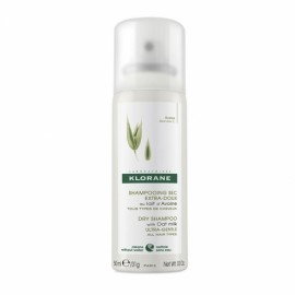 Klorane Avoine Dry Shampoo Ξηρό Σαμπουάν με Βρώμη για καθαρά και ανάλαφρα μαλλιά με όγκο, 50ml