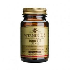 Solgar Vitamin D3 1000 IU (25μg) Συμπλήρωμα Διατροφής Βιταμίνης D3 με Πολλαπλά Οφέλη για τον Οργανισμό, Ιδανικό για την Υγεία των Οστών & των Αρθρώσεων, 90 tabs