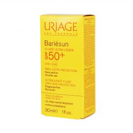 Uriage Bariesun Fluide Ultra Leger SPF50+ Λεπτόρρευστο Αντιηλιακό Προσώπου, 30ml