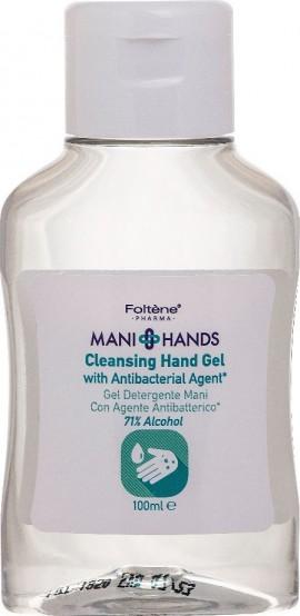 Foltene Mani Hands Cleansing Hand Gel 71% 100ml - Αντισηπτικό Χεριών