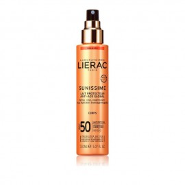 Lierac Sunissime Lait Protecteur Energisant Anti-Age Global Corps SPF50 Aντηλιακό/Αντιγηραντικό Γαλάκτωμα Σώματος 150ml