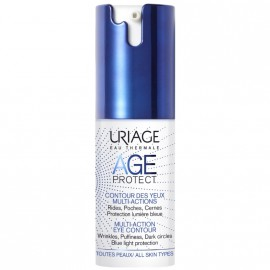 Uriage Eau Thermale Age Protect Multi-Action Eye Contour Κρέμα Ματιών Πολλαπλών Δράσεων, 15ml