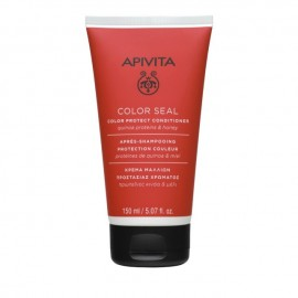 Apivita Hair Conditioner Color Seal, Κρέμα Μαλλιών Με Πρωτεΐνες Κινόα & Μέλι 150ml