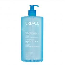 Uriage Gel Surgras Dermatologique, Τζελ Καθαρισμού για Ευαίσθητο Δέρμα Πρόσωπο/Σώμα 1L