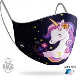 Παιδική Μάσκα Προστασίας Cute Unicorn, SAGG