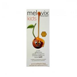 Sja Pharm Melovix Kids Παιδικό φυτικό σιρόπι για τον ερεθισμένο λαιμό, για ξηρό και παραγωγικό βήχα, 200ml