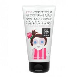 Apivita Kids Hair Conditioner Rose & Honey Απαλό Παιδικό Conditoner με Τριαντάφυλλο και Μέλι 150ml