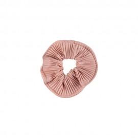 Medisei Dalee Λαστιχάκι Μαλλιών Από Μαλακό Ύφασμα  Dusty Pink Πλισέ, 1 τεμάχιο
