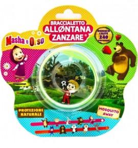 Brand Italia Citronella Mosquito Away Kids Masha Bear Green 1τμχ