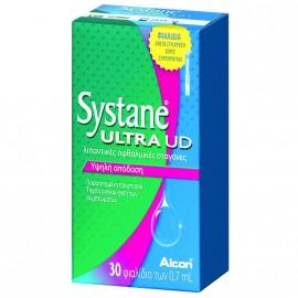 Alcon Systane Ultra UD Λιπαντικές Οφθαλμικές Σταγόνες, 30 x 0.7 ml