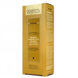 Korres Abyssinia Superior Gloss Colorant Μόνιμη Βαφή Μαλλιών 00.01 Υπερξανθιστικό