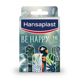 Hansaplast Limited Edition Be Happy Επιθέματα Μικρών Πληγών, 16 τεμάχια