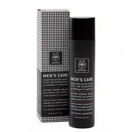 APIVITA MENS CARE ΕΝΥΔΑΤΙΚΟ AFTER SHAVE 100ML