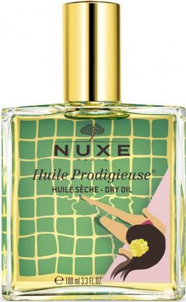 Nuxe Huile Prodigieuse Limited Edition Yellow, Ξηρό Λάδι Για Πρόσωπο Σώμα & Μαλλιά Κίτρινο 100ml