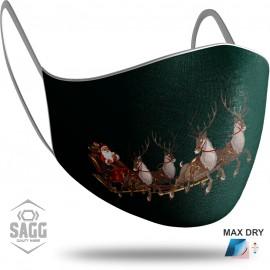 Παιδική Μάσκα Προστασίας Santa Claus 7, SAGG