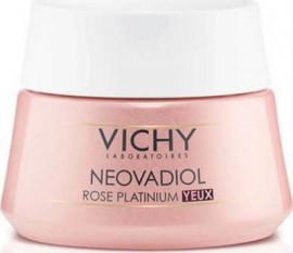 Vichy Neovadiol Rose Platinum Eye Cream Κρέμα Ματιών για Σακούλες & Ρυτίδες, 15ml