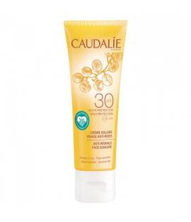 Caudalie Anti-wrinkle Face Suncare SPF 30 Αντηλιακή Κρέμα Προσώπου Υψηλής Προστασίας με Αντιγηραντική Δράση, 50ml
