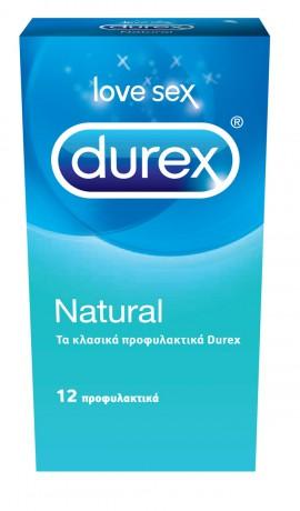 DUREX NATURAL 12 ΤΕΜΑΧΙΑ
