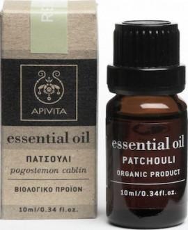 Apivita Essential Oil Patchouli Αιθέριο έλαιο Πατσουλί,10ml
