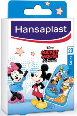 Hansaplast Disney Mickey & Friends Επιθέματα για τα Δάκτυλα 20 strips
