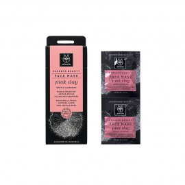 Apivita Express Beauty New Face Mask Pink Clay 2x8ml