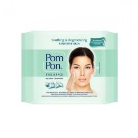 Pom Pon Sensitive Υγρά Μαντήλάκια Ντεμακιγιάζ 20τμχ