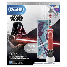 Oral-B Παιδική Επαναφορτιζόμενη Ηλεκτρική Οδοντόβουρτσα Special Edition Star Wars Kids 3+, 1τεμ.