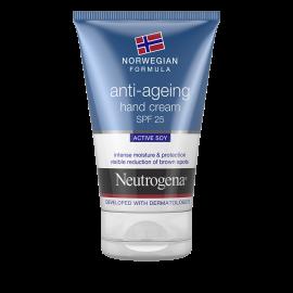 Neutrogena Hand Cream Antiaging SPF25 Ενυδατική Κρέμα Χεριών κατά των Σκούρων Κηλίδων, 50 ml