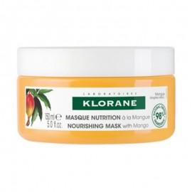 Klorane Hair Mask Mango Επανορθωτική Μάσκα Μαλλιών με Βούτυρο Μάνγκο, 150ml
