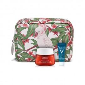 Vichy Promo Liftactiv Collagen Specialist Αντιγηραντική Κρέμα Προσώπου με Βιοπεπτίδια για Όλους τους Τύπους Επιδερμίδας, 50ml & Δώρο Mineral 89 Probiotic Booster Ανάπλασης & Επανόρθωσης, 5ml & Νεσεσέρ, 1τεμ