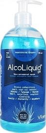 Vican AlcoLiquid Gel Αντισηπτικό Τζελ Χεριών, 500ml