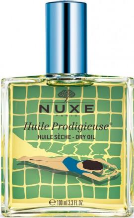 Nuxe Huile Prodigieuse Limited Edition Blue, Ξηρό Λάδι Για Πρόσωπο Σώμα & Μαλλιά Μπλε 100ml
