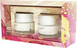 Panthenol Extra Πακέτο Προσφοράς Day Cream SPF15 Ενυδατική Κρέμα Ημέρας, 2x50ml