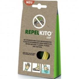 Ripelito 6VP Απωθητικό Βραχιόλι για Κουνούπια Κίτρινο 1τμχ.