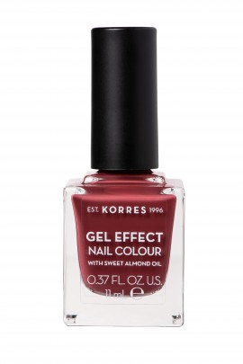 Korres Βερνίκι Νυχιών Gel Effect Nail Colour No77 Vintage Bordeaux 11ml