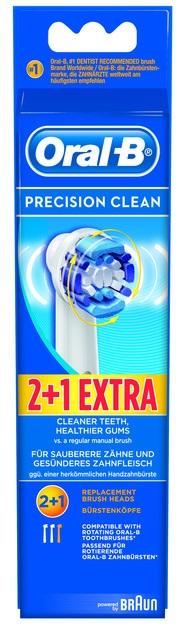 Oral-B Precision Clean Ανταλλακτικά Βουρτσάκια, 2+1 Δώρο