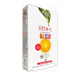 Power Health Vitamin-C Kids 30 Μασώμενα Δισκία