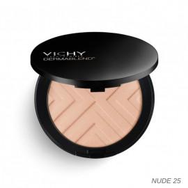 Vichy Dermablend Covermatte Compact Powder Foundation SPF25 Nude 25, Υψηλής Κάλυψης Make Up σε μορφή πούδρας, για λιπαρή επιδερμίδα με τάση ακμής, 9.5gr