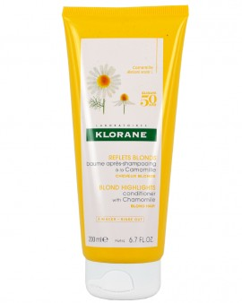 Klorane Conditioner Μαλακτική Κρέμα με Εκχύλισμα Χαμομηλιού για Ξανθά Μαλλιά, 200ml