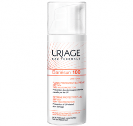 Uriage Bariesun 100 Extreme Protective Fluid SPF50+, Αντιηλιακή Λεπτόρευστη Κρέμα Για Δέρμα μη Ανεκτικό Στον Ήλιο, 50ml