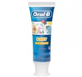 Oral-B Baby Βρεφική Οδοντόκρεμα Disney Winnie The Pooh 0-2 Ετών, 75ml